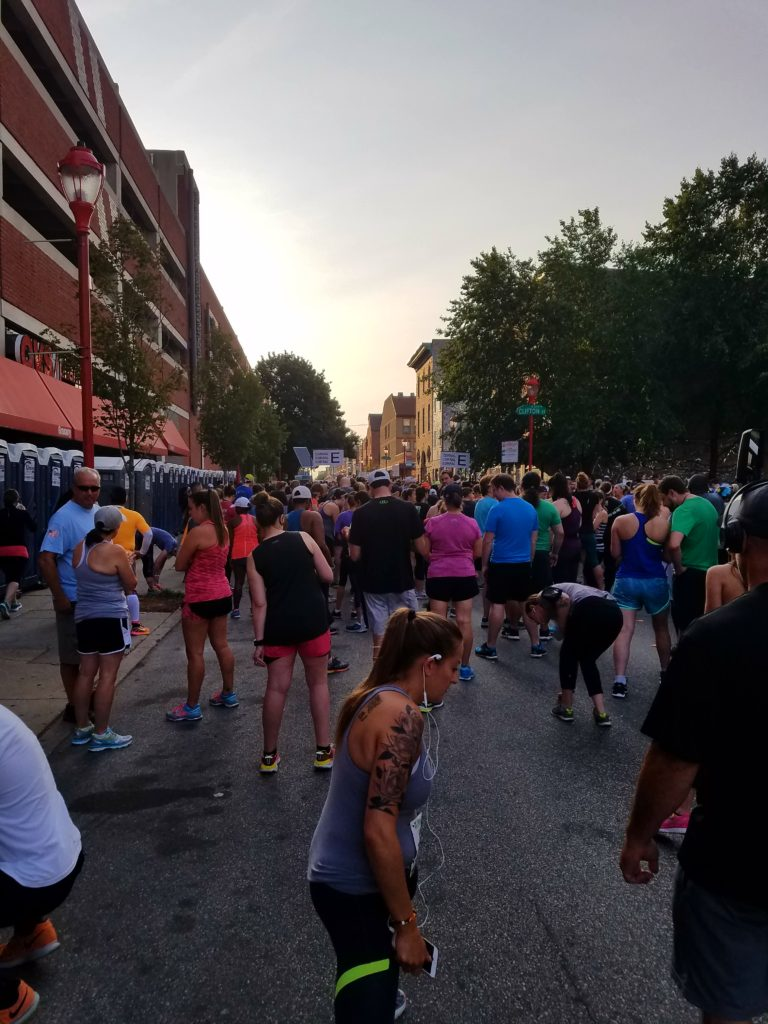 The Philly 10K E Corral